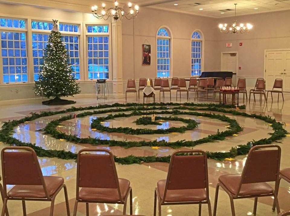 Advent Spiral November 27, 2016