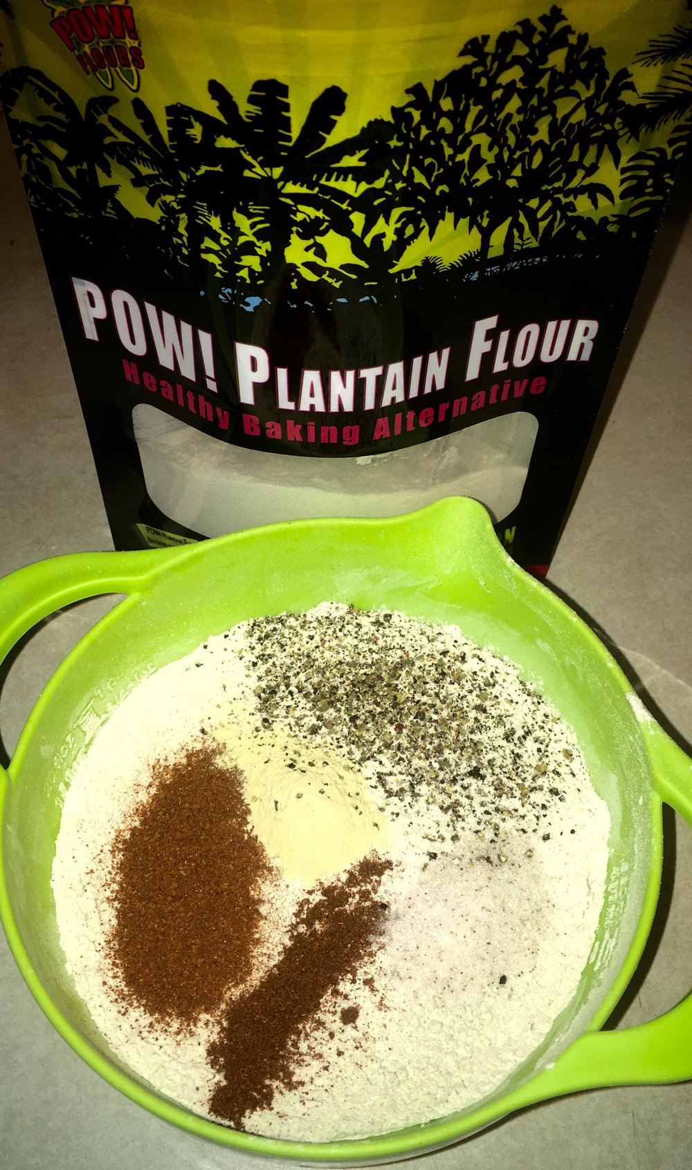 POW! Plantain Flour Savory Gluten-Free Fried Foods
