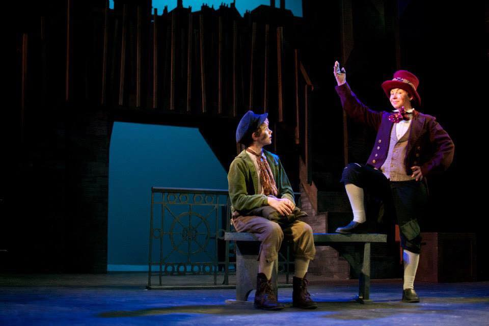 Oliver!: Forestburgh Playhouse: Kayla as the Artful Dodger