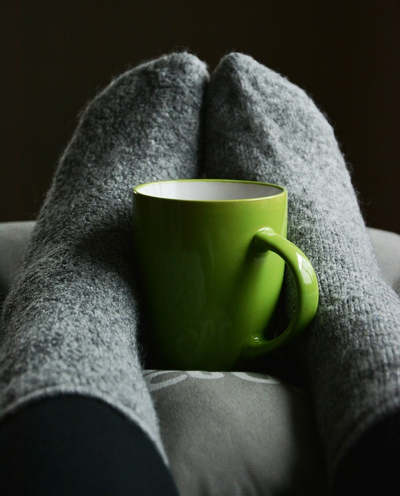 Cozy Blanket & Coffee