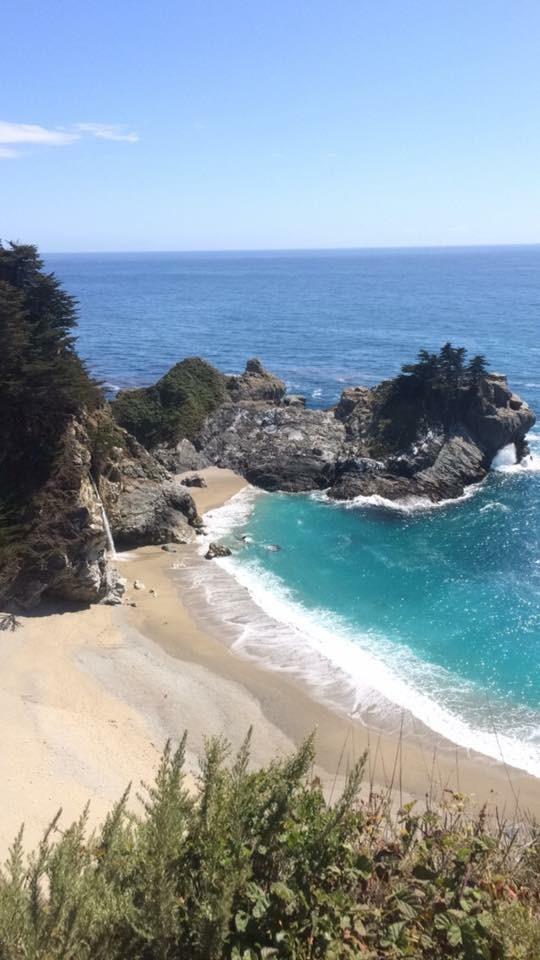 coast line california