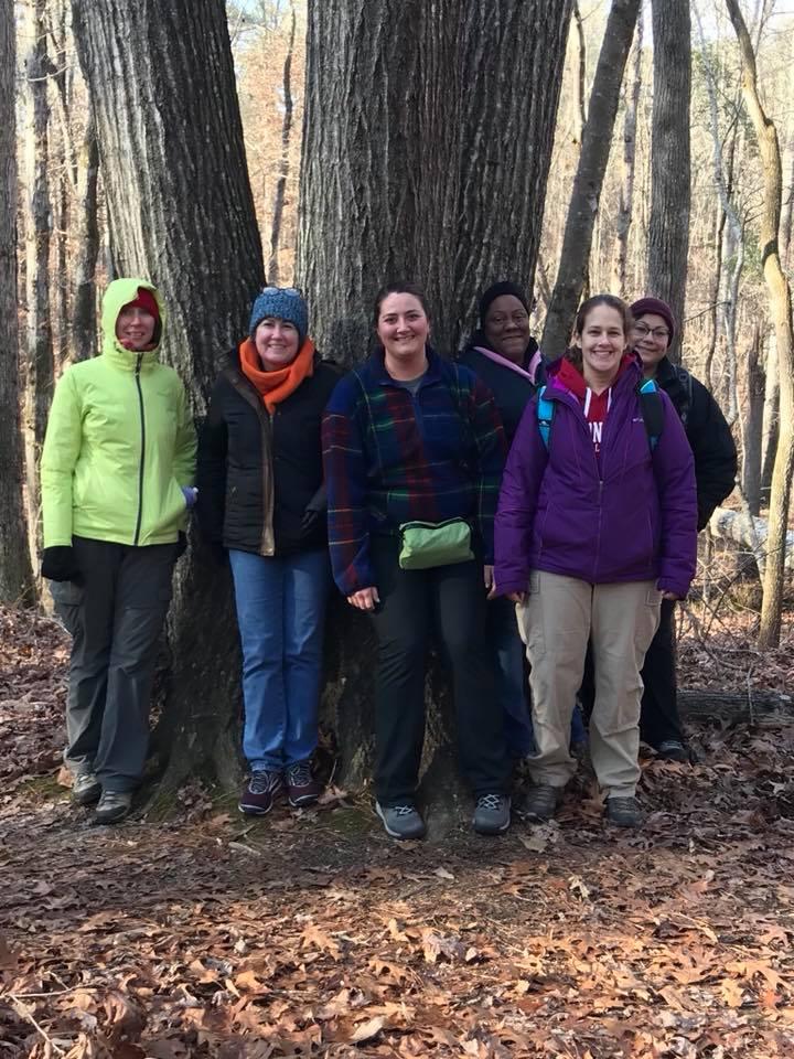 Group Hike Women