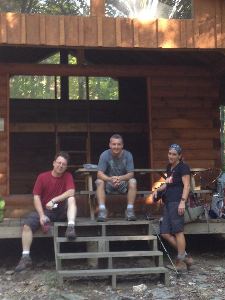 Appalachian Trail Shelter Maryland