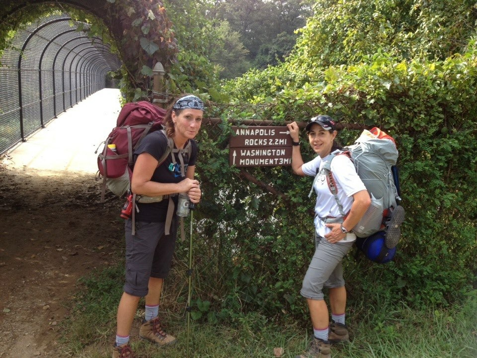 Women Backpacking AT