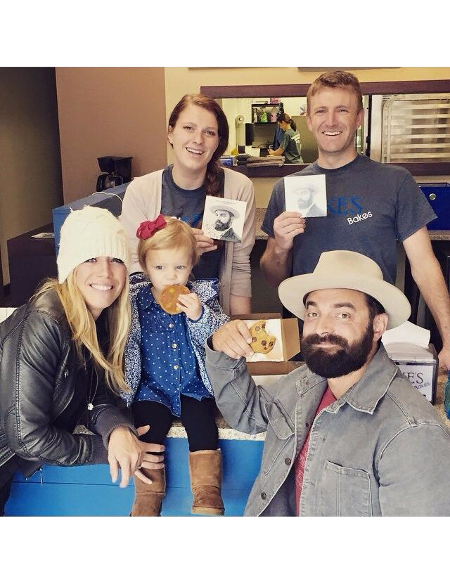 Drew Holcomb and the Neighbors stopped by the shop