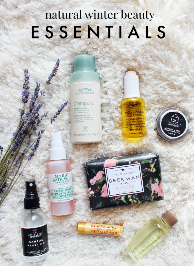 Natural Winter Beauty Products