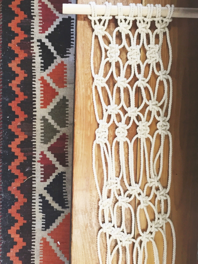 A Macrame Class with Emily Katz of Modern Macrame with One-One Thousand