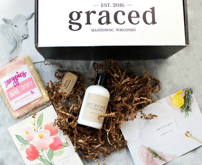 Graced Box Unboxing | La Petite Farmhouse