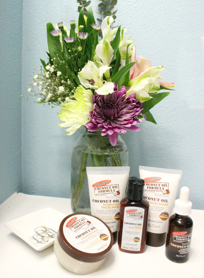 Spring refresh with Palmer's Coconut Oil products