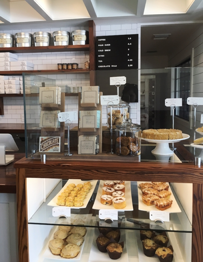 baked goods on display at Buttermilk Handcrafted Food in Sarasota, FL