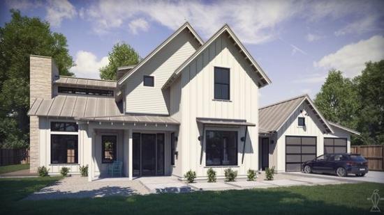 Top 10 Modern Farmhouse House Plans La Petite