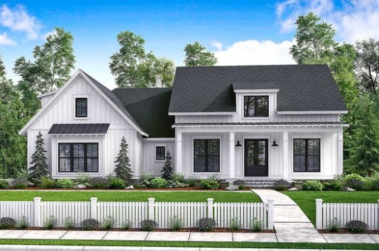 Top 10 Modern Farmhouse House Plans La Petite