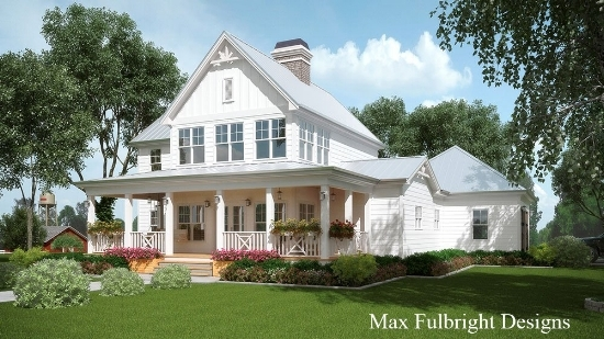 modern farmhouse house plans la petite farmhouse - Modern Farmhouse Plans