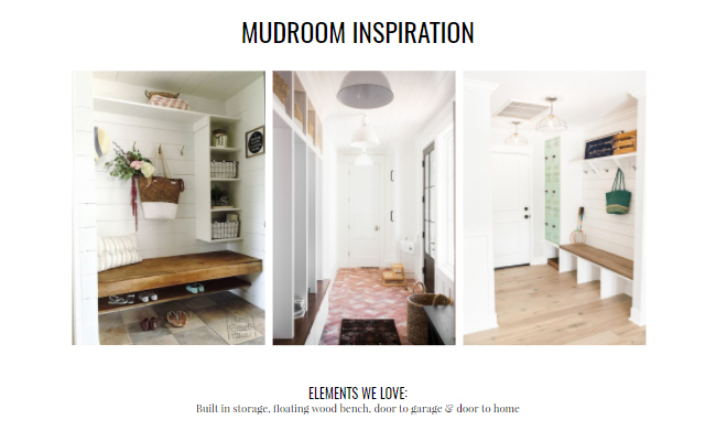 mudroom inspiration from our design inspiration template
