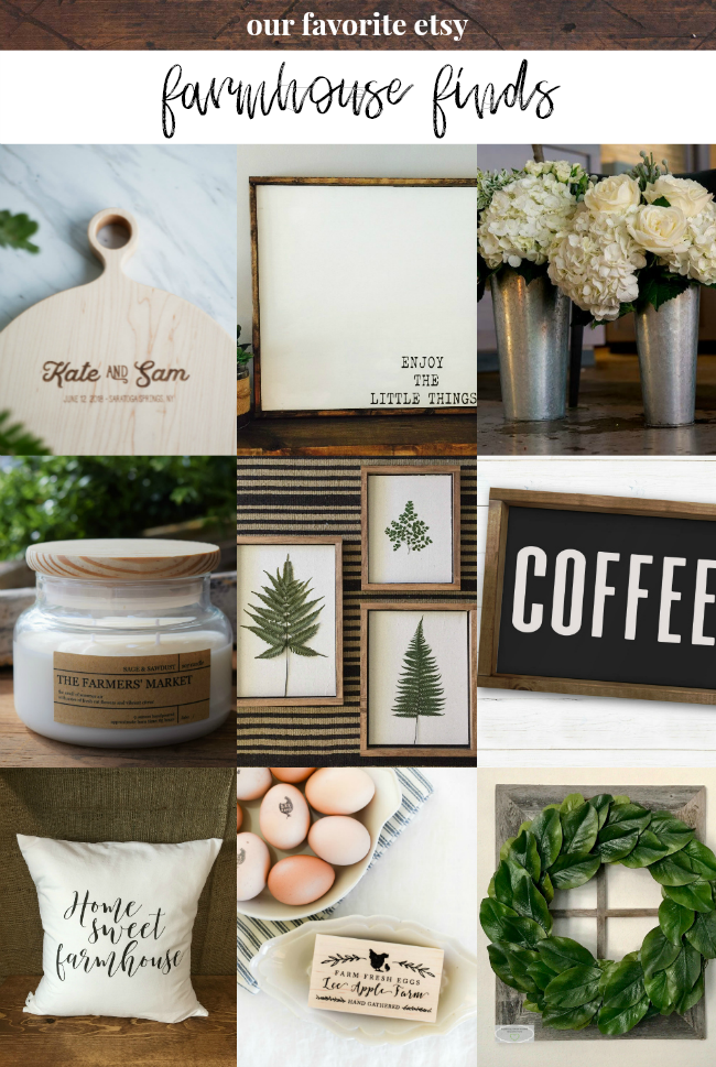 etsy farmhouse decor finds | la petite farmhouse