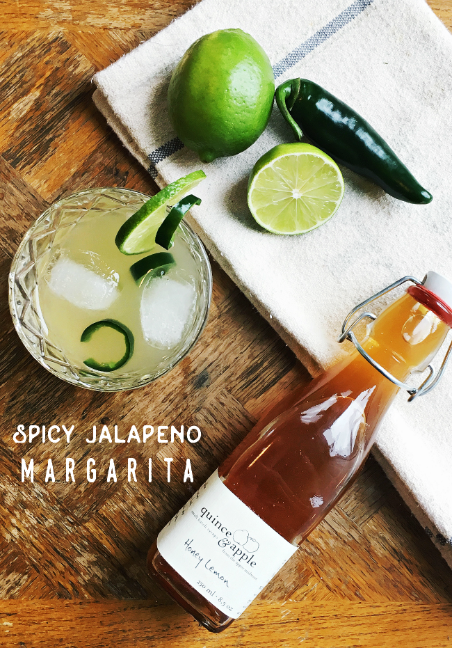 farm to glass cocktail series: spicy jalapeno margarita | la petite farmhouse
