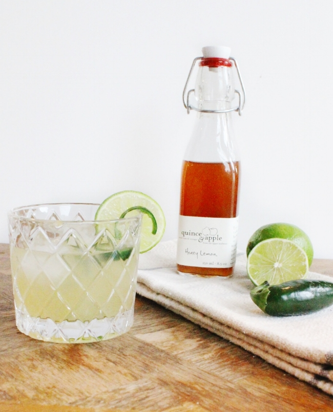 farm to glass cocktail series: spicy margarita | la petite farmhouse