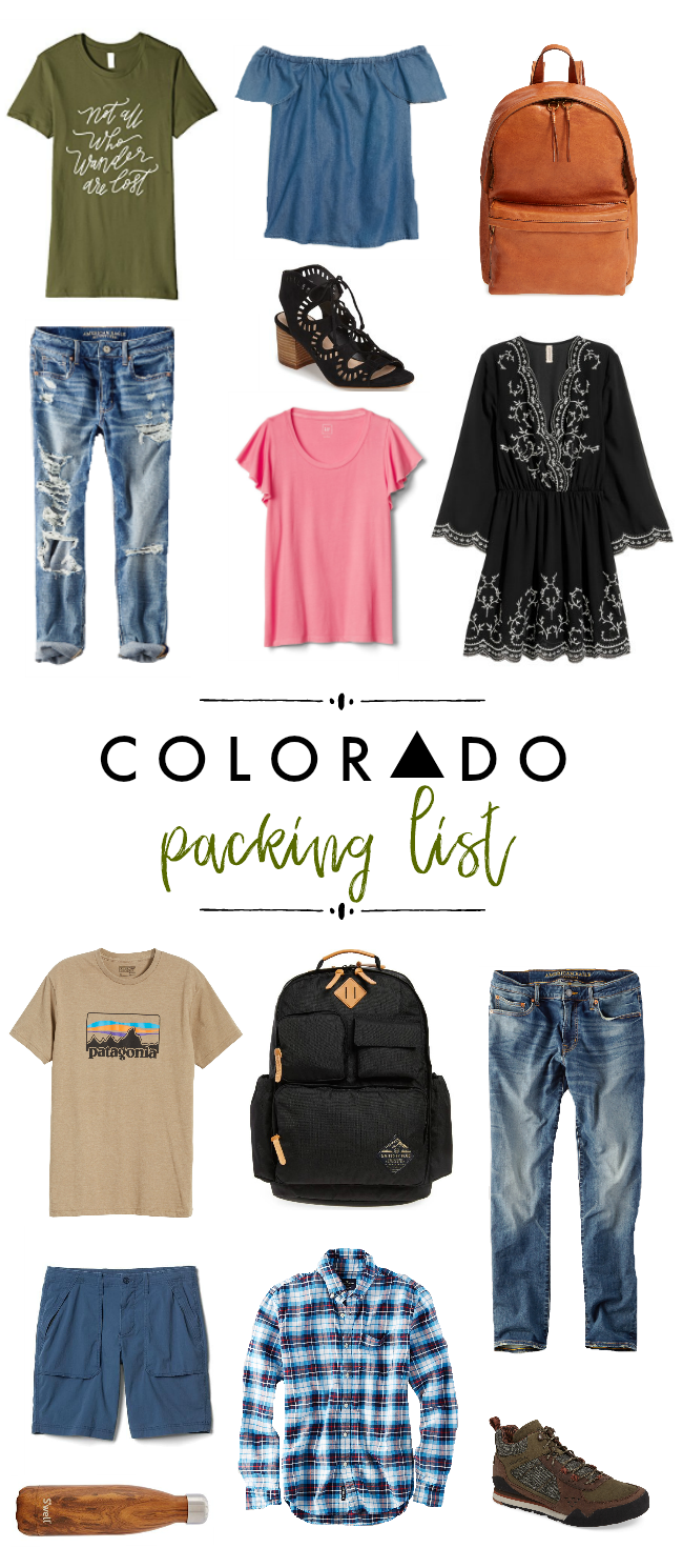 Colorado Packing List | La Petite Farmhouse