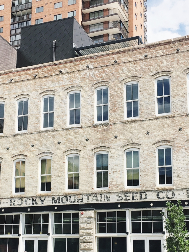 Rocky Mountain Seed Co. vintage building