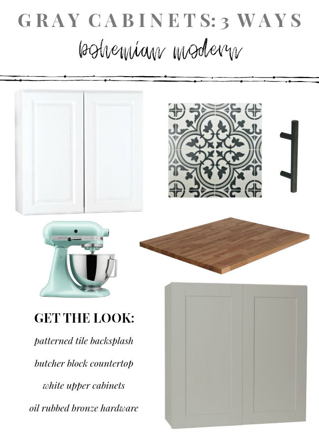Gray Kitchen Cabinets Ways La Petite Farmhouse - Hardware for gray cabinets
