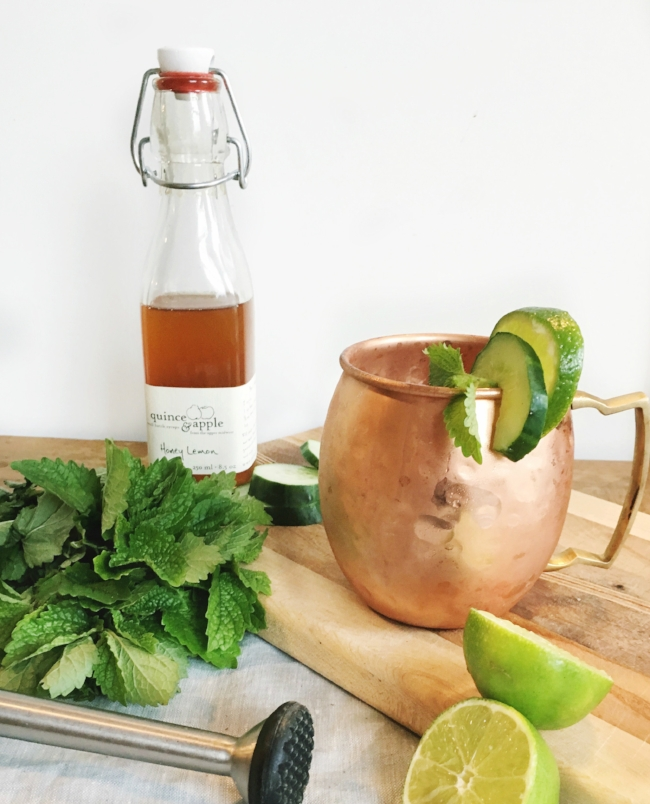 Farm to Glass Cocktail Series: Mint Mule | La Petite Farmhouse