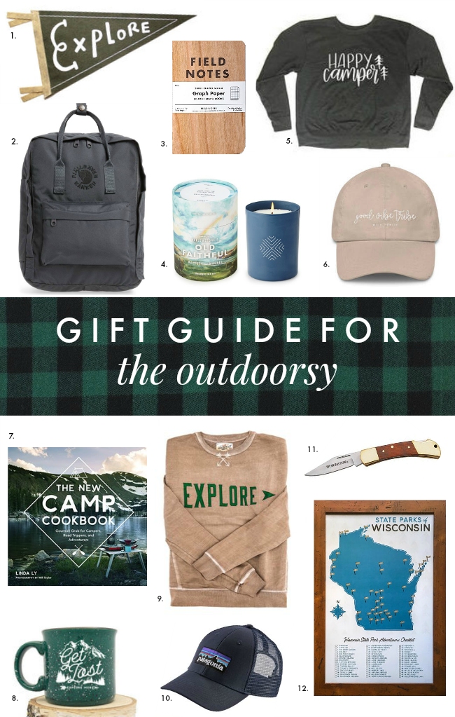 holiday gift guide: for the outdoorsy adventurer | la petite farmhouse