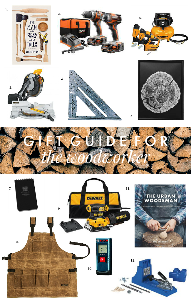 gift guide for the woodworker - la petite farmhouse