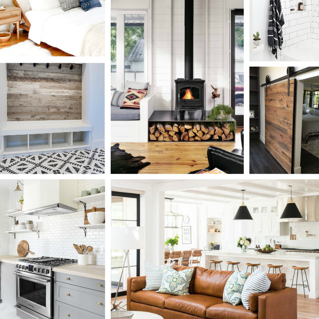 Modern Farmhouse Interior Design: Modern Scandinavian Farmhouse Build Inspiration Board
