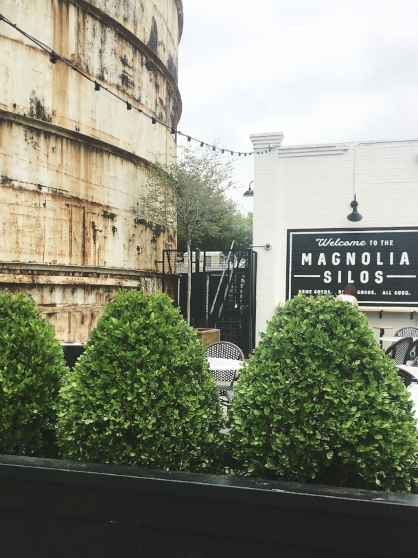 Silos at Magnolia Market