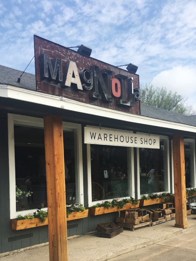 Magnolia Warehouse | original Magnolia store on Bosque Boulevard