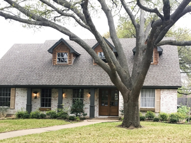 The German Schmear house from Fixer Upper in Waco