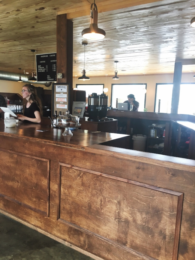 Pinewood Coffee Roasters in Waco
