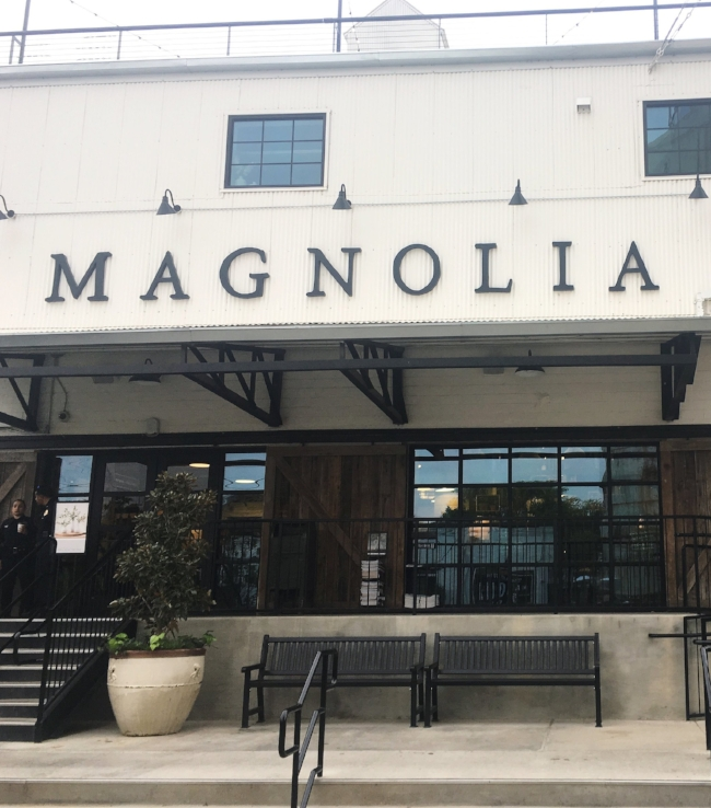 Magnolia Market entrance