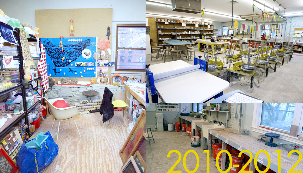 2010-2012: New Spaces, New Opportunities