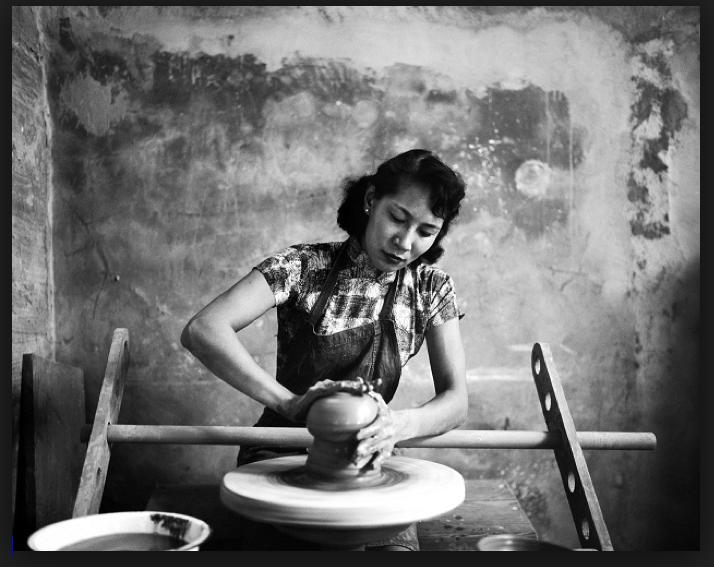 Katherine Choy, circa 1957, Photograph by Jack Robinson, www.robinsonarchive.com