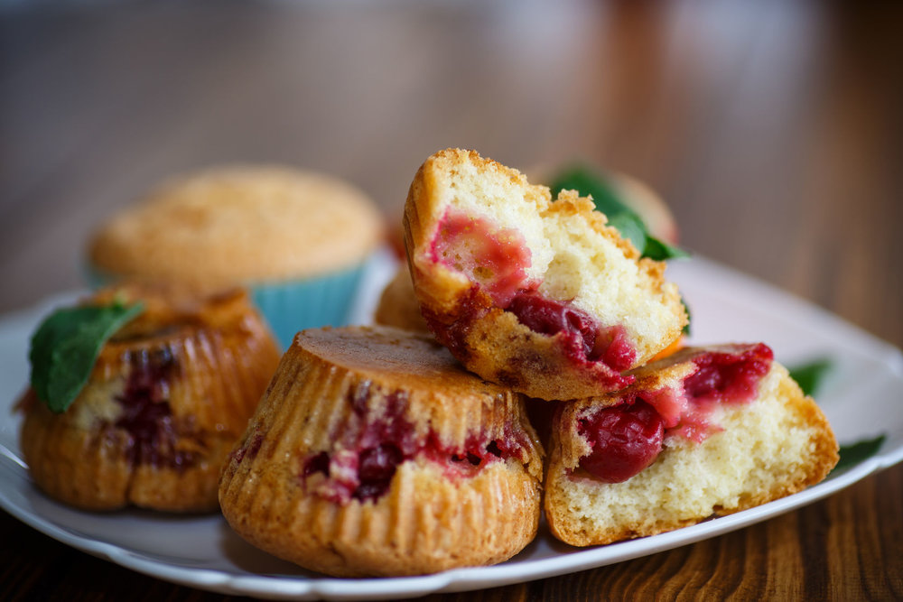 Smith & Hanks: Air-Fryer Baked Holiday Muffins with Fruit Stuffing