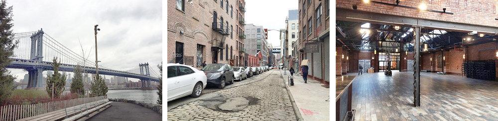 DUMBO neighborhood of Brooklyn, NYC