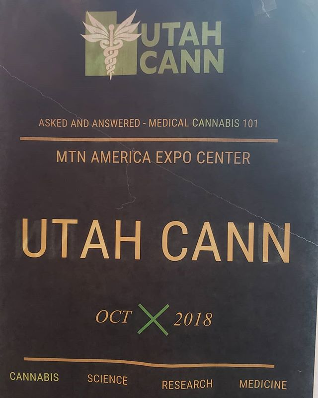 Even in #utah, they're getting ready for legal MED... #slc #slctattoo #saltlake #saltlakecity #saltlakecityutah #cannabis #cannabiz #420 #420girls #legalizeit #letssmoke #pot #cannabusiness #weed