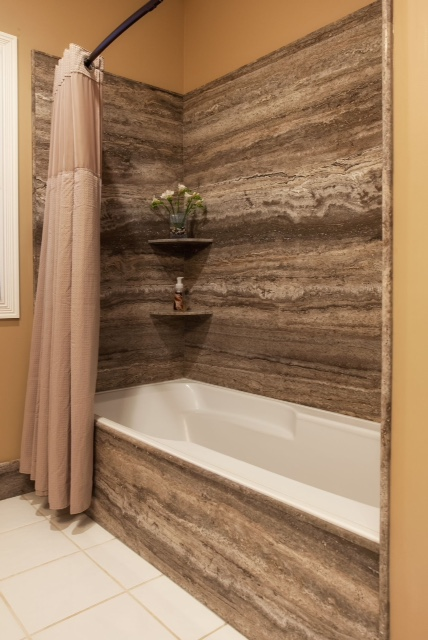 Travertine. Bath Shower Surround with Accessories.jpeg