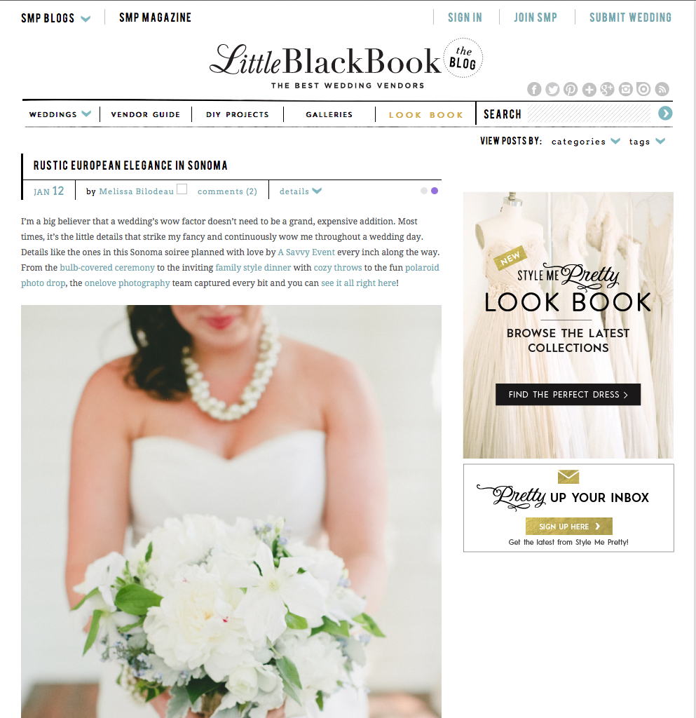 http://www.stylemepretty.com/little-black-book-blog/2015/01/12/rustic-european-elegance-in-sonoma/