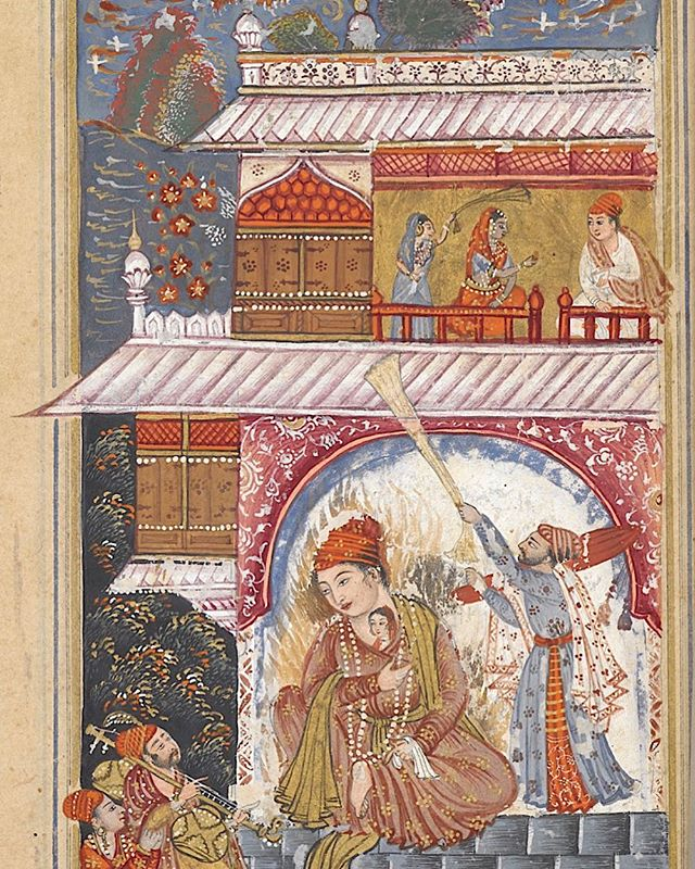 New pod alert! This one's about Pem Nem, a love story from 17th century (or a little earlier) Deccan. It's poetry and painting combines together into a beautiful full manuscript now in @britishlibrary collection. Head to www.masalahistory.com for a listen (click link in bio)! We are also on iTunes. #podcast #deccan #pemnem #bijapur #india #history #lovestories #sufism