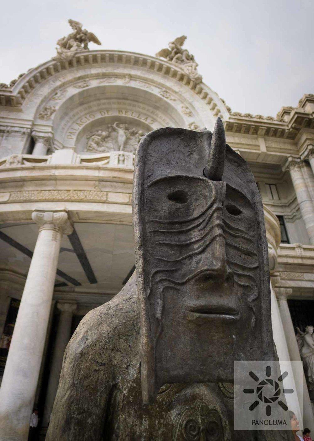 Outside the Bellas Artes