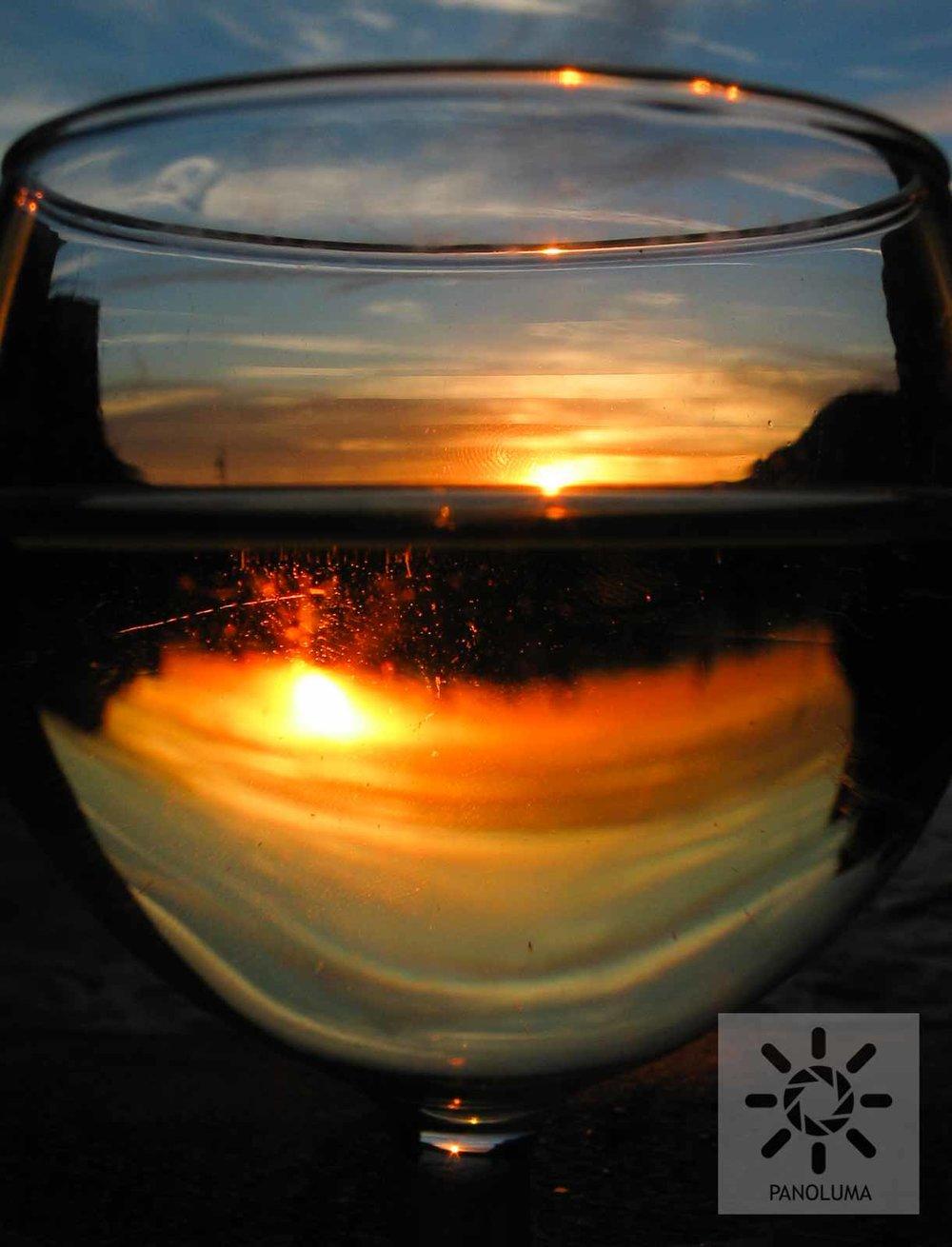 Toasting Sunset