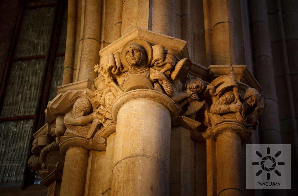 Sculpture in St. Vitus
