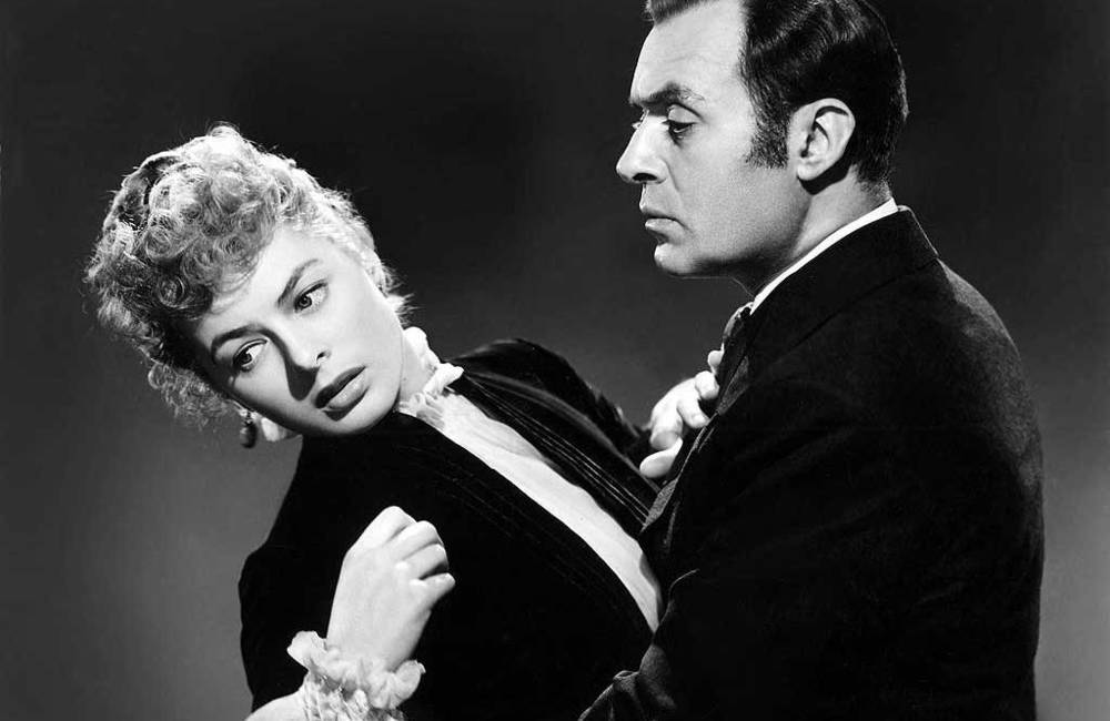 Gaslight 1994 Drama - (left to right )Ingrid Bergman and Charles Boyer  [youtube -Antonina Rosenow ]