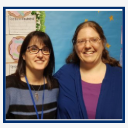 Mrs. Giselle Gomes-Mouro & Mrs. Kerry Drozdik Grade 5S Teachers CCS Family Members since 2018