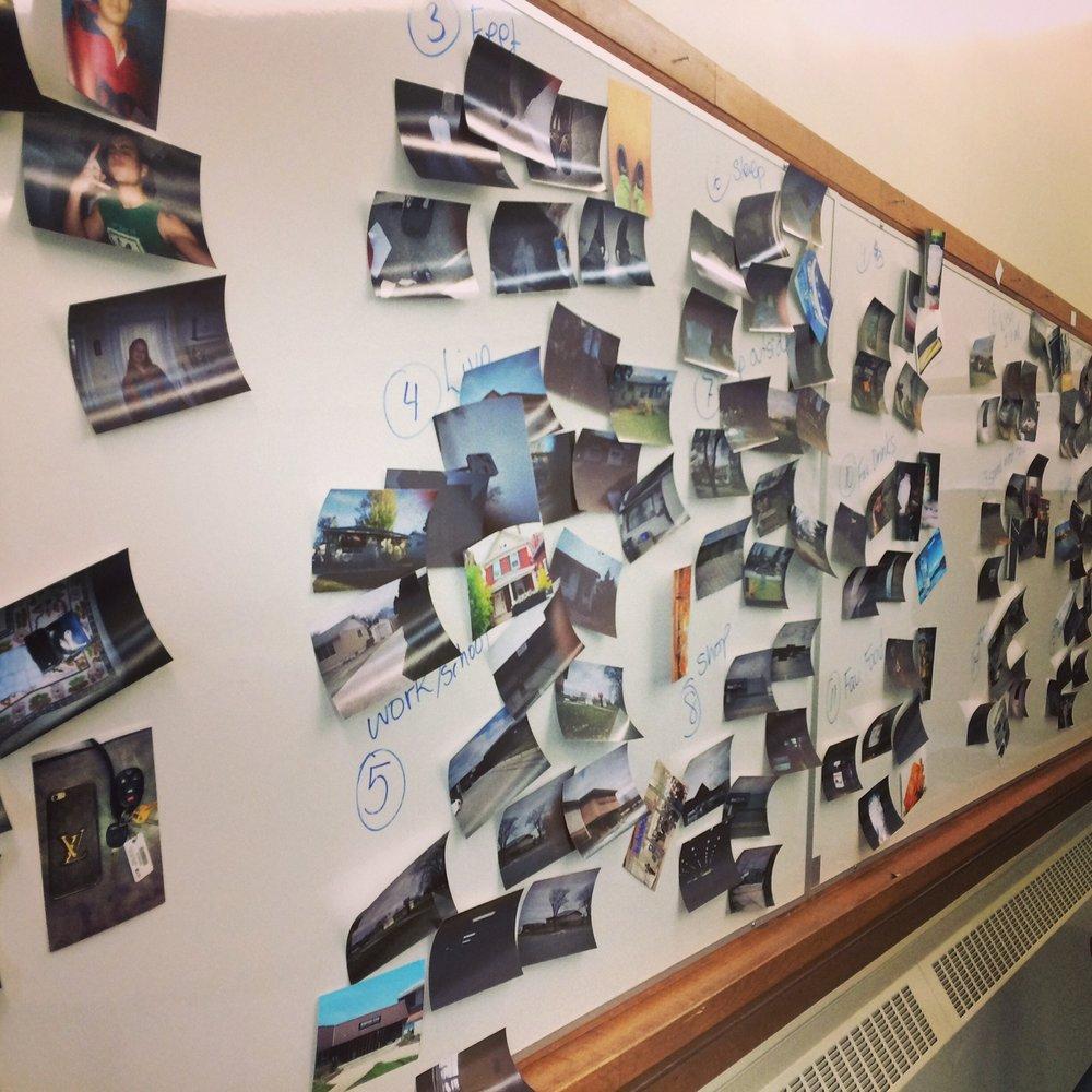self-documentation wall