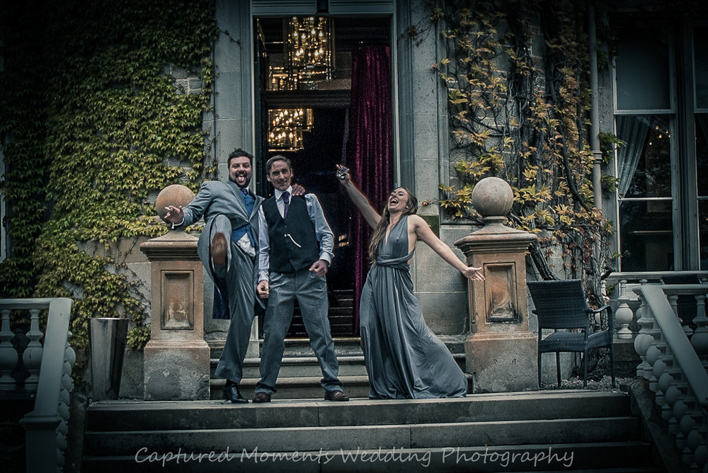 wedding guests carlowrie castle