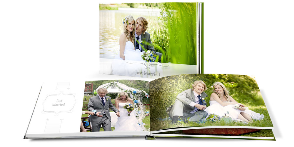 Wedding Album example from Northumberland Wedding Photographers-Captured moments wedding photography