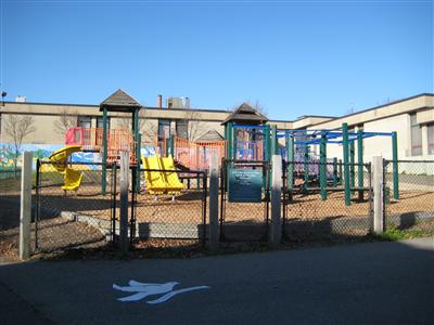 West Zone Early Learning Center playground